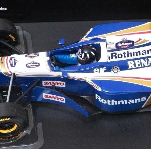 Campeón Junior F1   18 1996 Damon Damon Damon Hill Williams fw18 wdc Gran Premio del Brasil (tabaco) 7fc