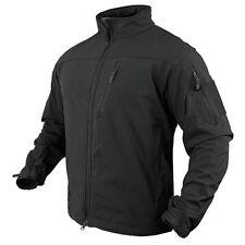 Condor Outdoor Tactical Phantom Soft Shell Military Stealth Jacket Black Medium