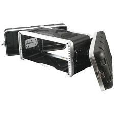 "NEW 4RU Portable Music Equipment 19"" Rack Mount Case.Shallow Mount Depth.PA.DJ"