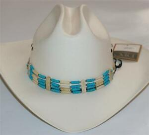 f00ef4862e4 Image is loading SOUTH-WESTERN-NATIVE-AMERICAN-COWBOY -Turquoise-Natural-CHOKER-