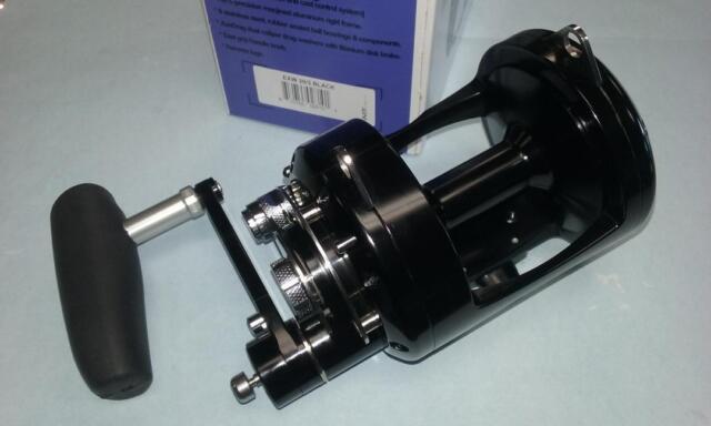 Avet EXW 30/3 Black Lever Drag 3-speed Reel