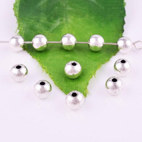 Lots Tibetan Silver Spacer Loose Beads À faire soi-même Bijoux