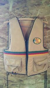 Bass pro shops sterns fishing vest life jacket adult chest for Bass fishing life jacket