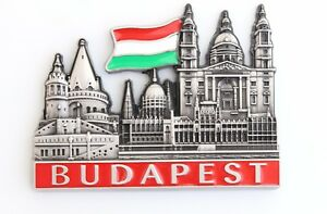 Unique-Style-Metal-Fridge-Magnet-Home-Decor-Holiday-Souvenir-Gift-from-Budapest