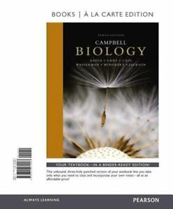 Campbell biology books a la carte edition by peter v minorsky stock photo fandeluxe Choice Image