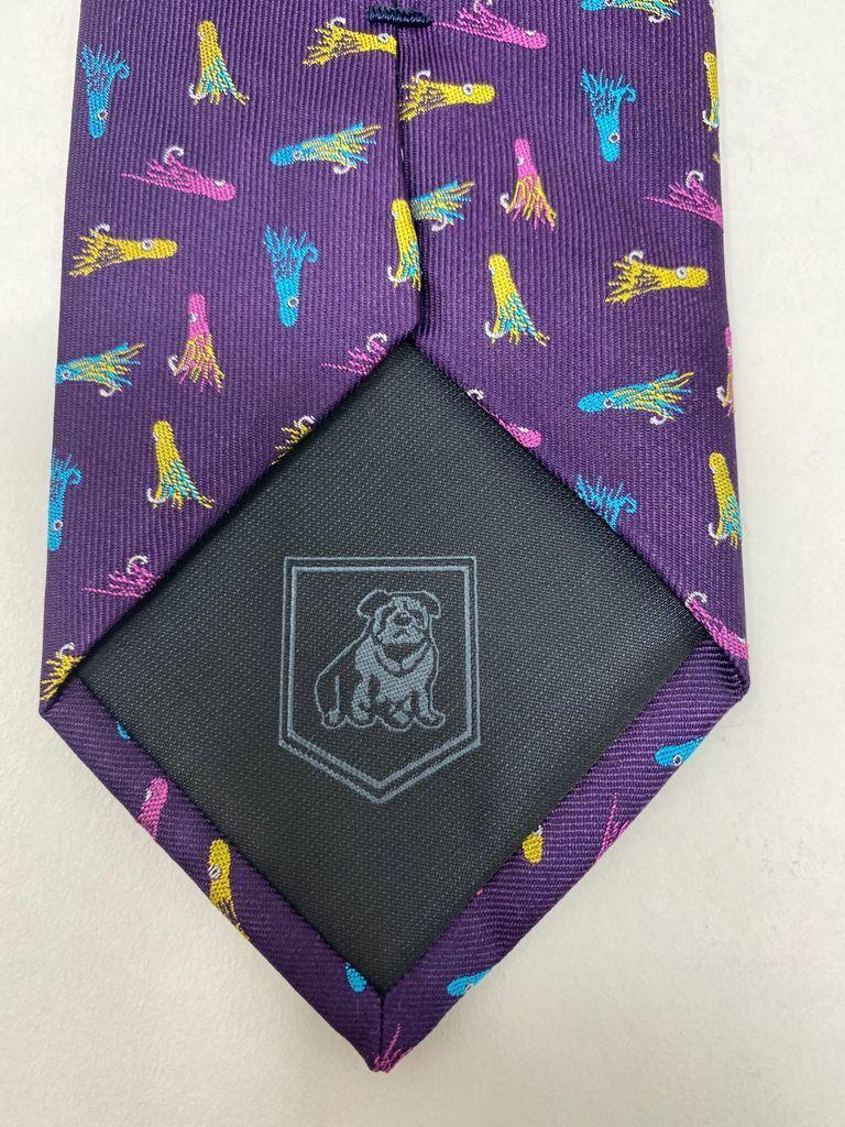 Harry Bachrach Krawatte 100% Seide Hand Genäht 155cm Krawatte