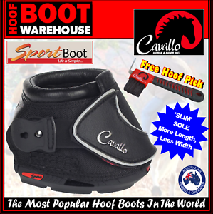 Cavallo Sport Hoof Boots Pair Horse Hoof Protection Comfort Slim Sole Ebay