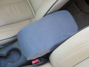 W1BR BLACK Armrest Cover For Console Lid 2012-2013 Volkswagen Passat