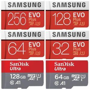 Samsung-EVO-PLUS-64GB-128GB-256GB-512GB-Micro-SD-SDXC-Memory-Card-Sandisk-Ultra