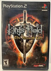 King-s-Field-Ancient-City-Sony-Playstation-2-PS2-No-Manual-Black-Label-By-Agetec