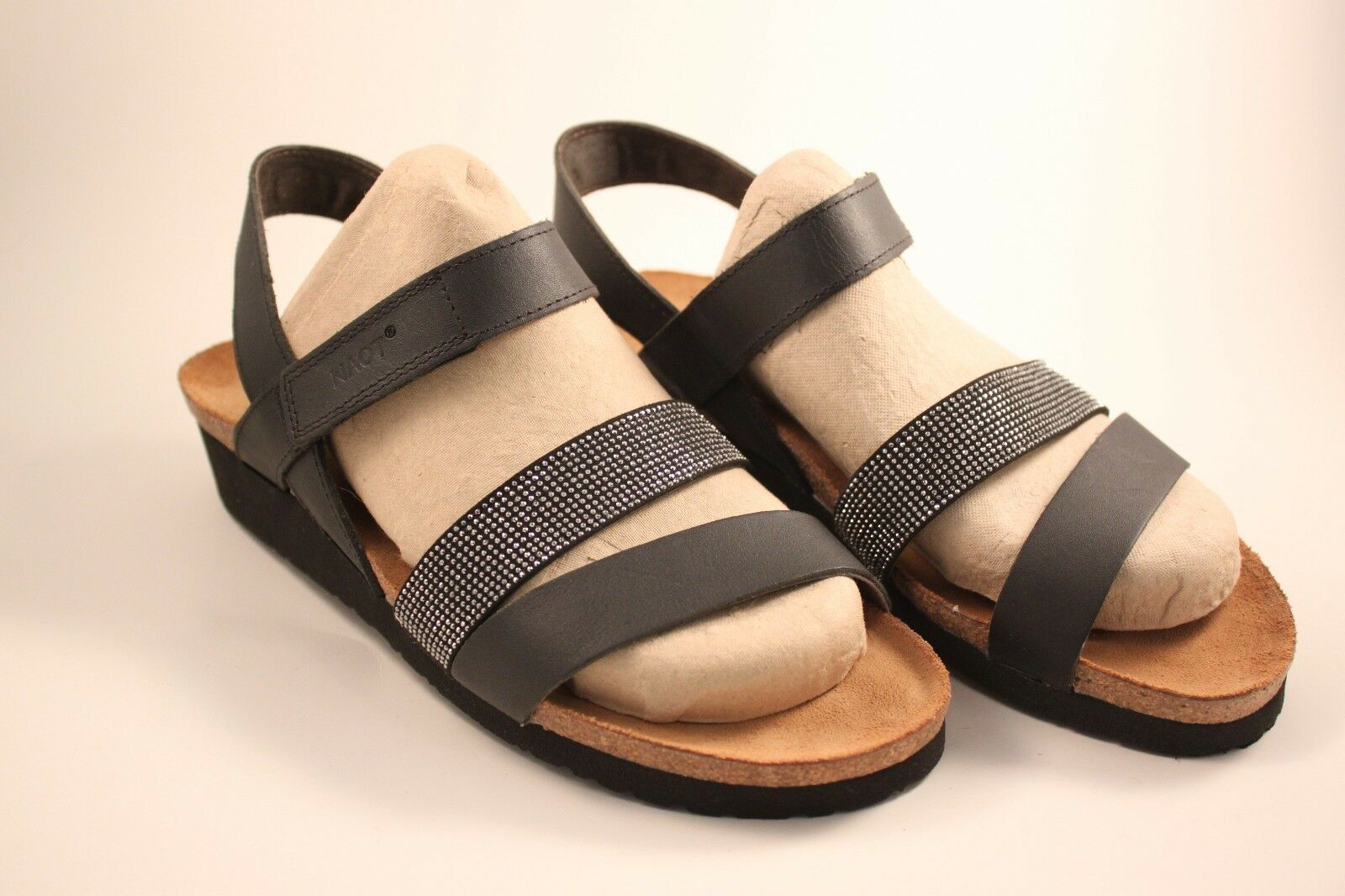 Naot Zapato Sandalia para mujeres de de de Krista Negro-talla EU 42; tamaño nos 11-11.5  70% de descuento