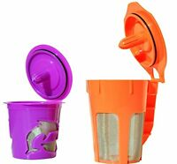 Fanor Reusable K Carafe & K Cup Coffee Filter Pod Combo For Keurig 2.0, K200, K3 on sale