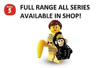 Lego minifigures zookeeper series 5 (8805) unopened new factory sealed