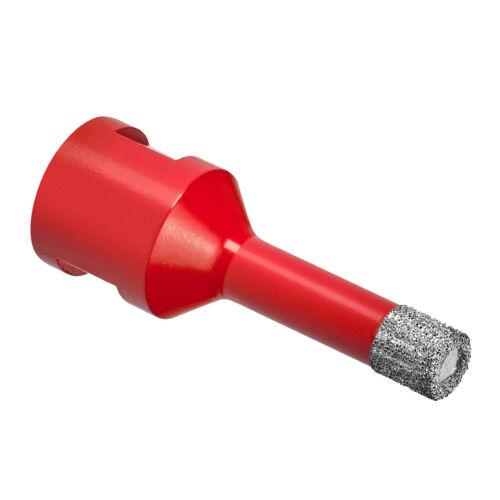 Diamantbohrkrone M14 Fliesenbohrer Diamantbohrer Ø 6-125 mm für Winkelschleifer