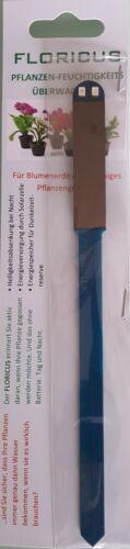 Pflanzen Feuchtigkeitsmesser Tester Topf Erde Bodentester 1 x Floricus blau