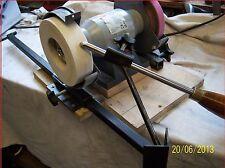 Gouge chisel sharpening tool for woodturning,gouge+fingernail= 2 jigs