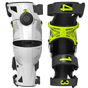 Mx Knee Braces >> Details About 2019 Mobius X8 Adult Knee Braces Motocross Mx Enduro Acid White Cheap New Ski