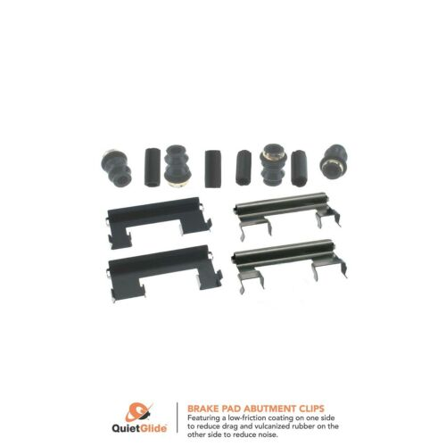 Rear Front Carlson H5644Q Disc Brake Hardware Kit