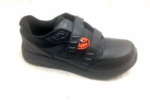 Black Leather Shoe 10 2E