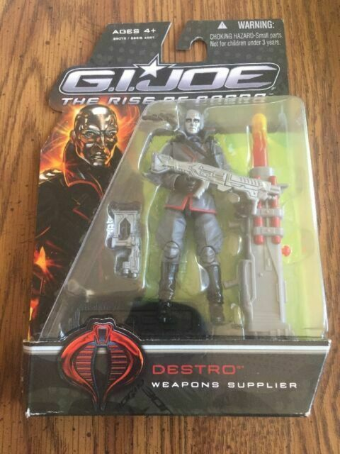 "G.I Weapons Supplier 3.75/"" Figure Destro Joe The Rise of Cobra"