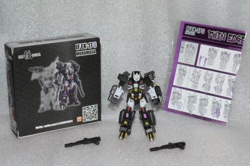 New Iron Factory Transformers IF EX-17S Shadow Muramasa Deadlock In Stock