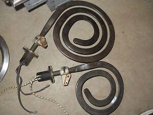 VINTAGE STOVE PARTS Frigidaire Flair Range Burner Drawer RELEASE Handle Knob