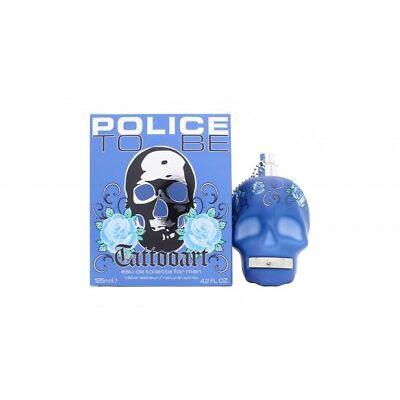 POLICE TO BE TATTOOART FOR MAN EAU DE TOILETTE EDT 125ML SPRAY - MEN'S FOR HIM