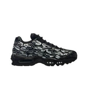 info for f71a8 6488a Image is loading Nike-Air-Max-95-PRM-Black-Black-White-