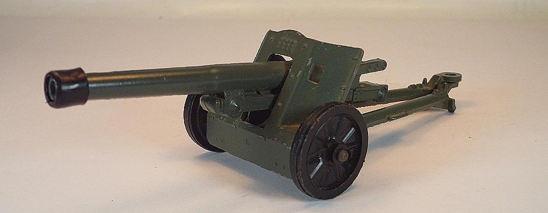 Dinky Toys Nr. 625 50mm P.A.K. Anti Tank Gun Army Wehrmacht Militär 1