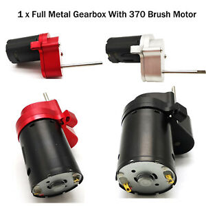 For WPL D12 Gearbox RC Truck VehicleAirplane R321A 370 52000rpm High Speed Motor