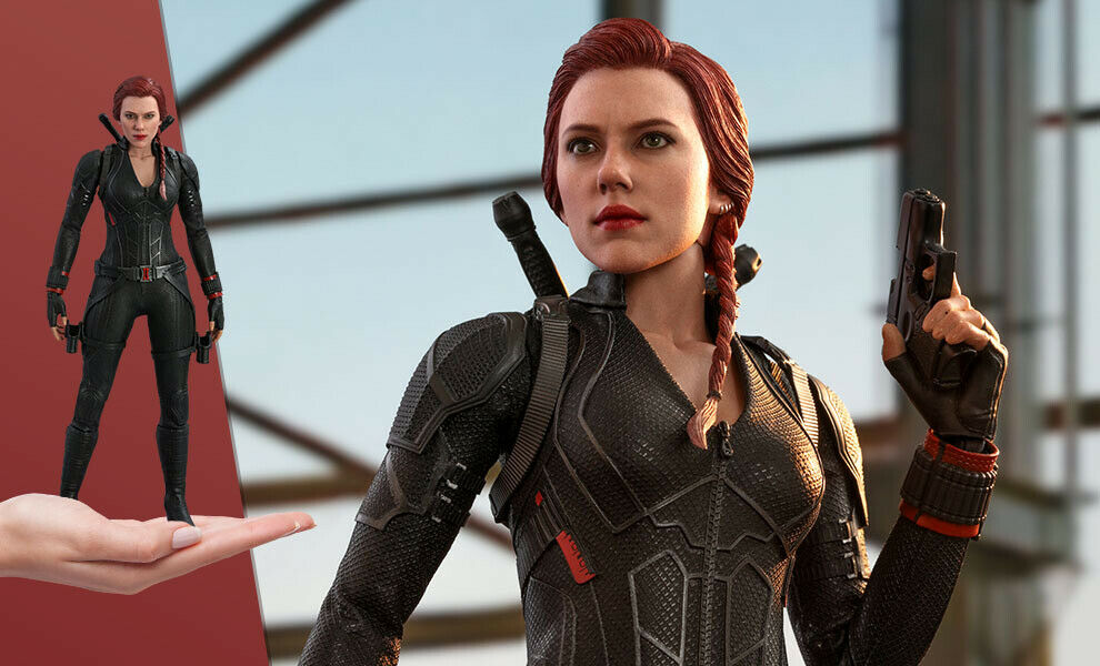 Black Widow Sixth Scale Figure by Hot Toys Avengers: Endgame - Movie Masterpiece on eBay thumbnail