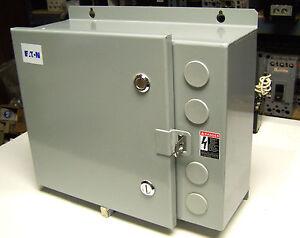 Nib Eaton Lighting Contactor Enclosure 30a 240v Cat