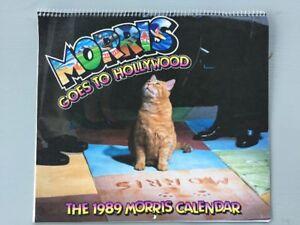 Image Is Loading Vintage Morris Cat Goes To Hollywood 1989 Calendar
