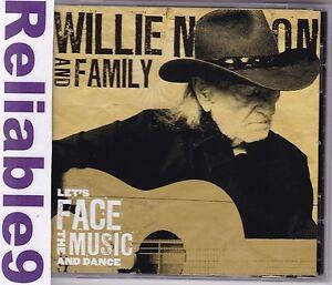 Willie-Nelson-amp-Family-Let-039-s-face-the-music-amp-dance-CD-14-tracks-2013-Sony-AUS