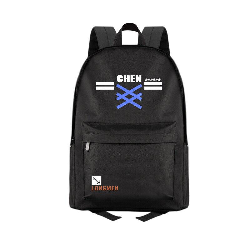Anime Arknights Ch'en Casual Fashion Backpack Shoulders Bag Schoolbag #M01