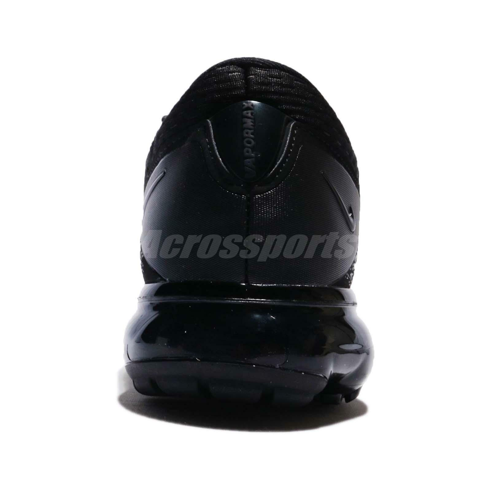 detailed look 6b5d7 b920a ... WMNS Nike Air vapormax Malla Triple Triple Triple Negro Mujer running  Shoes Sneakers ah9045-002 ...