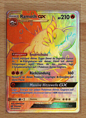 Ramoth GX Full Art 213//236 Welten im Wandel Pokemon Karte