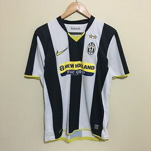 Juventus-Nike-2008-2009-Football-Soccer-Jersey-Shirt-Mens-Medium