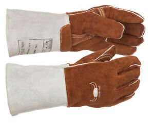 MIG MMA Welding Gloves XL Size: M XXL HIGH QUALITY WELDAS SOFTouch TIG L