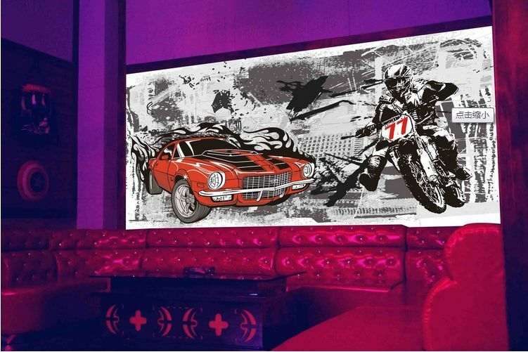 3D Autos und Motorräder 26 Fototapeten Wandbild Fototapete BildTapete Familie DE