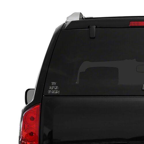 /'Tiny Humans On Board/' BABY Minivan Car SUV Decal Sticker Window Laptop Wall