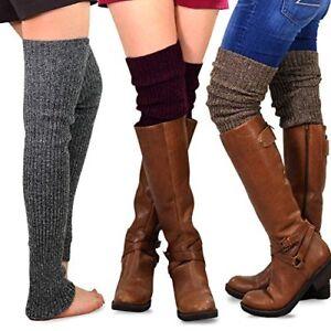 168b960f27b TeeHee Gift Box Women s Fashion Extra Long Thigh High Leg Warmers 3 ...