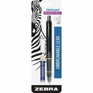 Zebra Pen ™ Delguard Mechanical Pencil - 0.5 mm - Black Barrel - Bonus Refill