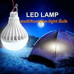 Portable-Solar-Panel-Power-LED-Light-Bulb-Lamp-For-Outdoor-Fishin-Camp-Tent-I3J8