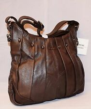 Ladies Women Genuine Leather Handbag D-BROWN Soft Cross Body Shoulder Bag 3731