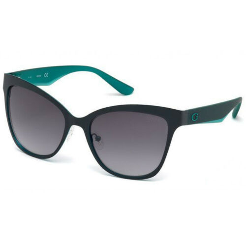 GUESS Schmetterlings-Sonnenbrille Damen UV-Schutz Brille Grau Style WOW SALE