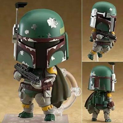 "Star Wars 706 Action Figure 4"" Boba Fett Nendoroid Toy New In Box Collections"