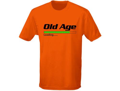 12 Farben Old Age Laden Herren Geburtstag Lustiges T-Shirt