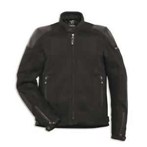 New-Spidi-Ducati-Road-Master-Fabric-Jacket-Men-039-s-Large-Black-981035505
