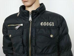 Xl Puffer 440 Hip Womens capuche £ Rrp Jacket Hop Bomber Manteau noir Designer Coogi à S86wzq5q